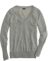 05-gray-v-neck-sweater