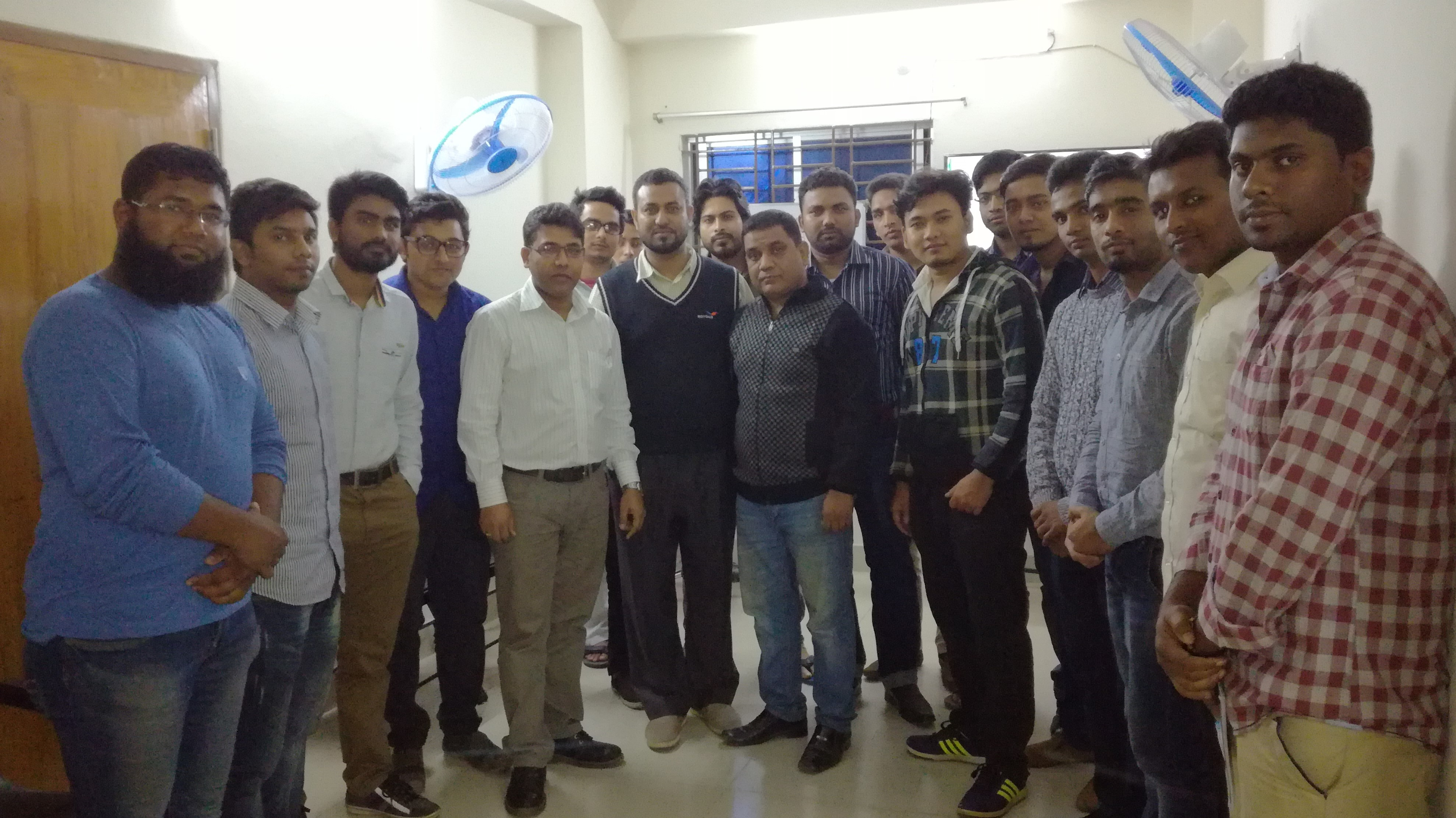 "Engineers participated at ""Meet the Engineers"" by AAA Control"