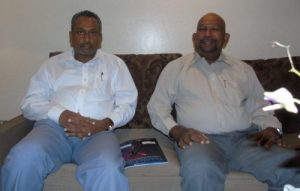 from left- Mr. Chandima Punyawardana, Director, Redox Chemical Industries Ltd., Dayantha De Silva, Chairman, S&D Group