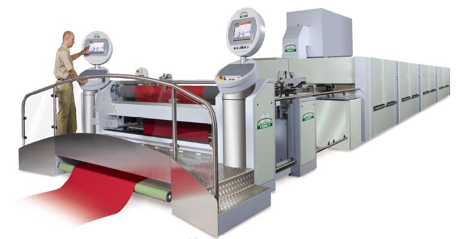 Stenter Frame Range MONTEX 6500