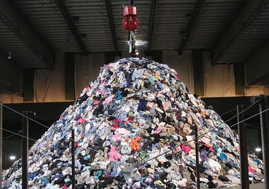 A Growth In Textile Waste Market From 2017 To 2023