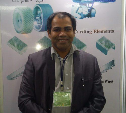 Prasad W. Mahale, Vice President (Sales & Marketing), The Indian Card & Clothing Co. Ltd.