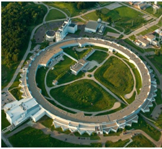 : Beautiful structural design of Argonne National Laboratory, Argonne, Illinois