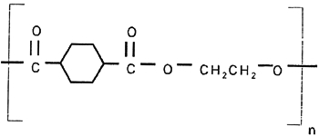 Molecular structure of Polyester