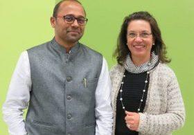 Successful business partners: Gopinath Bala (CEO & Technical Director SAF) and Regina Brückner (CEO BRÜCKNER)