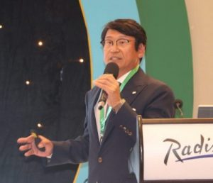 Yasumasa Emori, CEO, NICCA Chemical Co., Ltd.