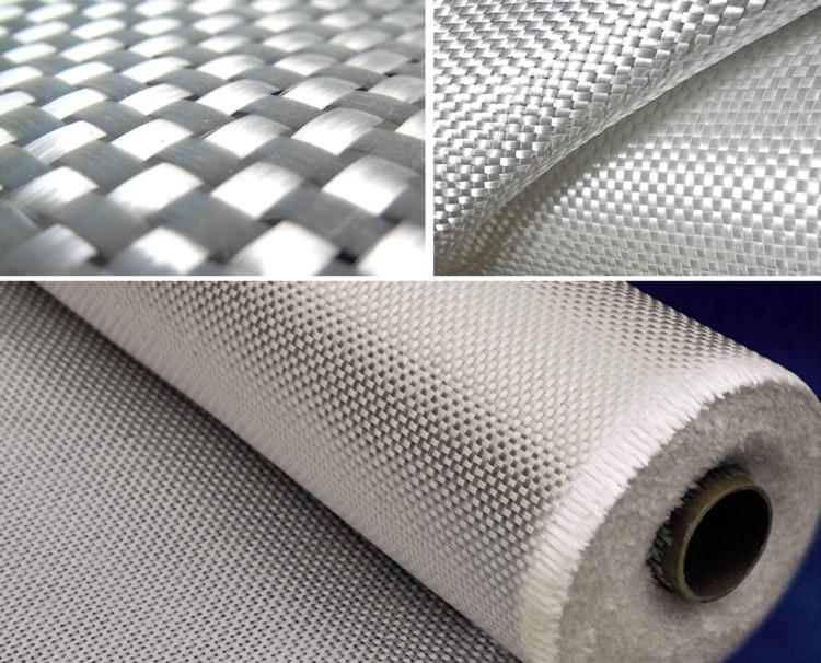 Fig. Glass fibre fabrication