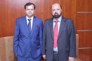Abdul Samad Amiwala and Salman Abdul Rauf Amiwala heading Rauf Electronic Equipment Service as Partners and Executive Directors