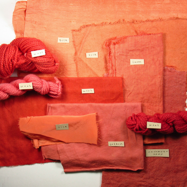 madder-root-dyed-fabric