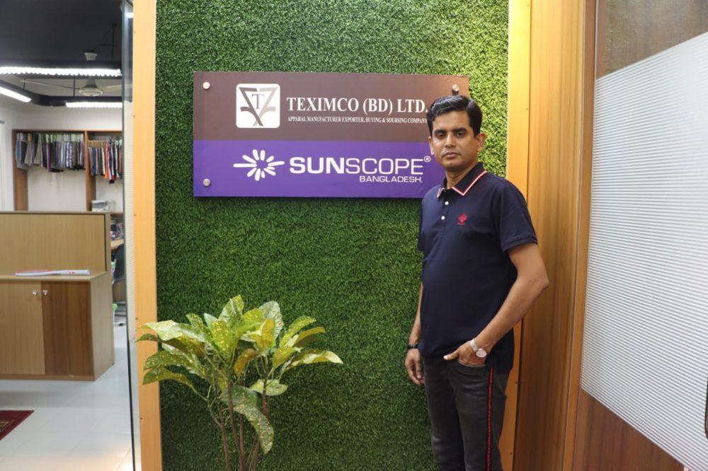 Figure: Mijanur Rahman, Managing Director, TEXIMCO (BD) LTD.
