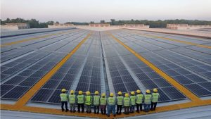 Larges Rooftop Solar Plant