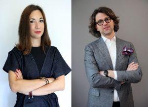 on-the-left-camilla-carrara-founder-zero-waste-designer-zerobarracento-on-the-right-acclessandro-ivaldi-director-business-unit-carnet-of-ratti-s-p-amarzotto-group
