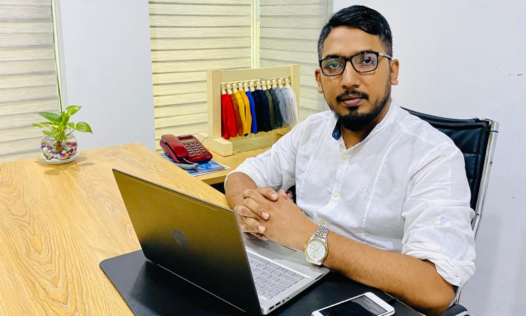 Elais Farhad Prince, Managing Director of PM Sourcing (Pvt) Ltd