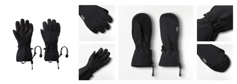 Image:  © Outdoor Research RadiantX Gloves and Mitts