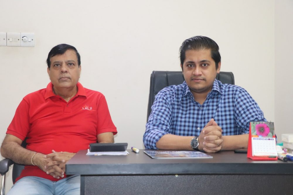 From left-Sandeep Dave, Country Head, and Shivam Saraf, Director Apna Organics Pvt Ltd